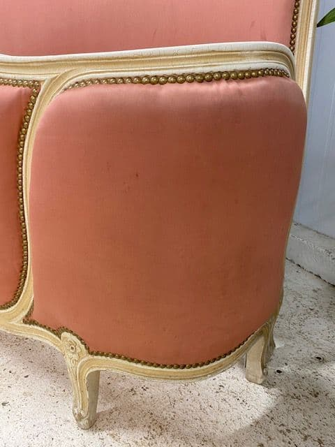 sold - Vintage  French Double Bed  - ha145